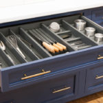 Combination Drawer in Orion Gray