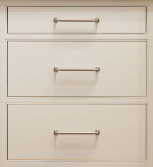 Flat Drawer Front Configuration