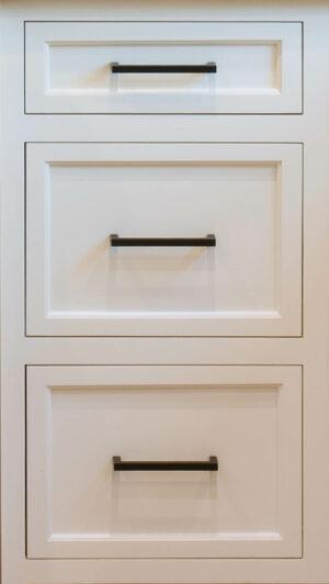 Slimline Drawer Front Configuration