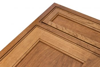 Beaded Inset Front Frame in Cherry from Crown Select